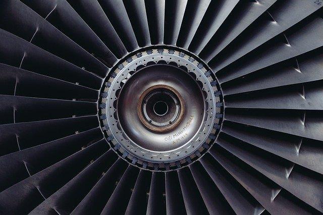 jet engine, jet, airplane